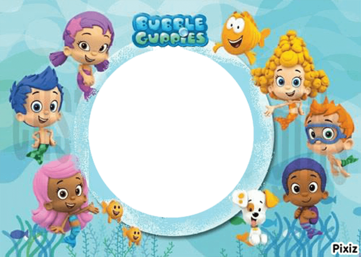 Marco Foto Bubble Guppies 2
